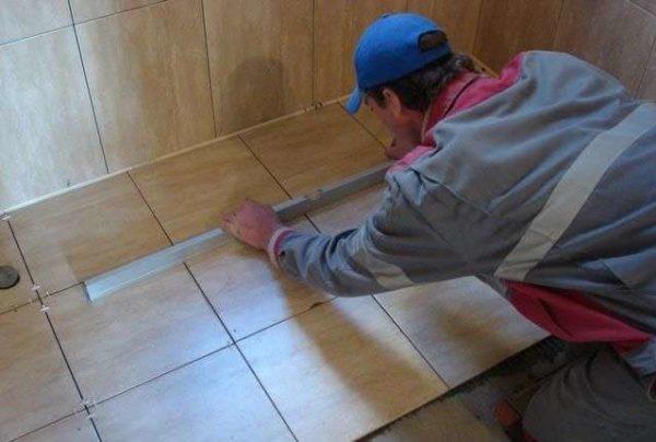Укладка плитки на пол своими руками пошаговая инструкция фото 920