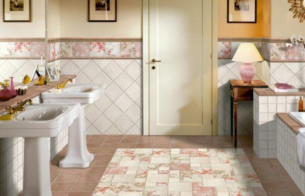 Дизайн ванной комнаты в светлых тонах