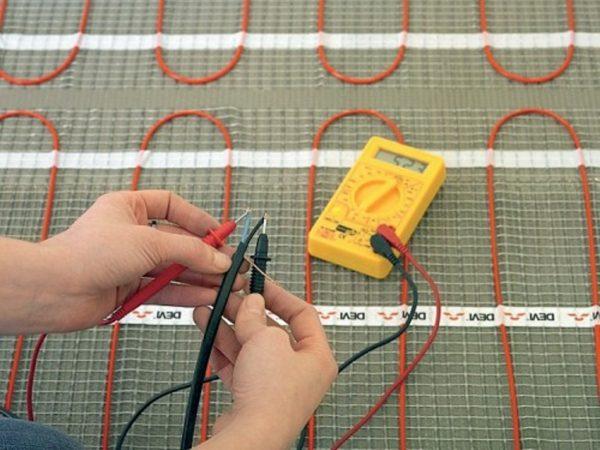 Тестирование сопротивления кабеля
