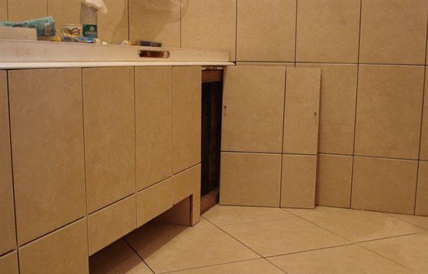 Съемный экран под ванную